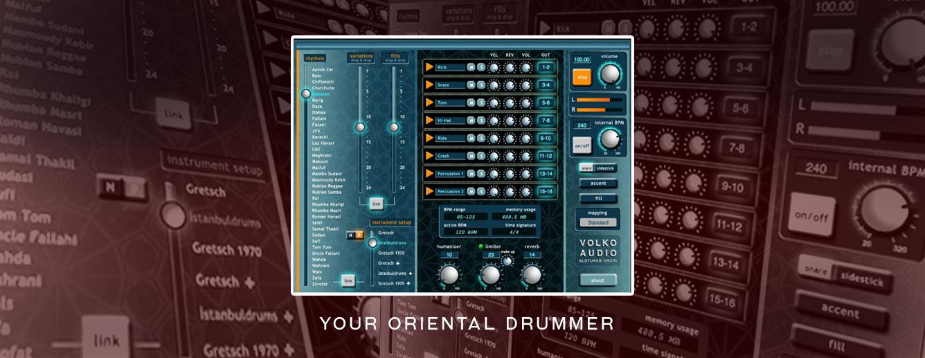Volko Alaturka Drum Oriental Drummer